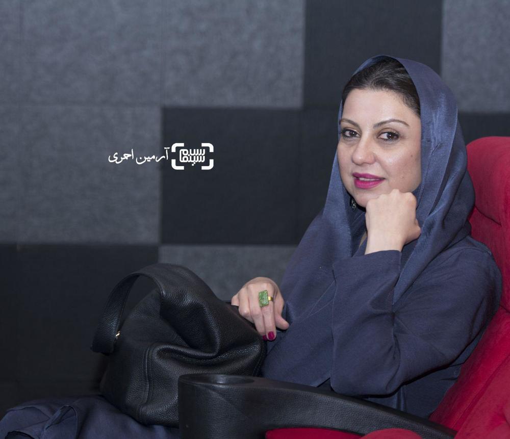 نگار آذربایجانی در اکران خصوصی فیلم «فصل نرگس»