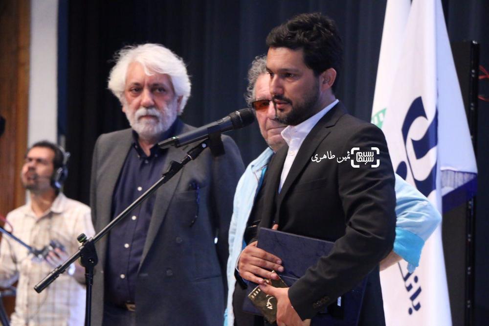 حامد بهداد برنده بهترین بازیگر مرد برای «سد معبر» در جشن انجمن منتقدان و نویسندگان سینمای ایران