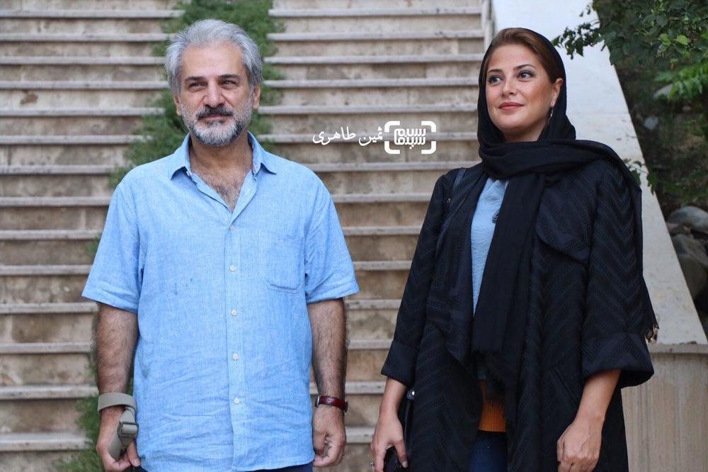 طناز طباطبایی و ناصر هاشمی در یازدهمین جشن انجمن منتقدان و نویسندگان