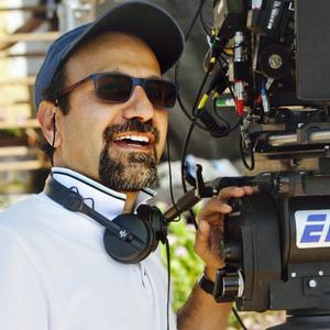 اصغر فرهادی در پشت صحنه فیلم «همه می دانند»