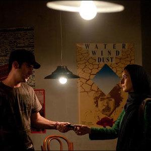 سهیلا گلستانی و هوتن شکیبا در فیلم شب بیرون