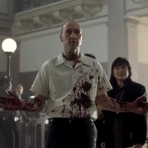 کوین اسپیسی در نمایی از فیلم «هفت»(seven)