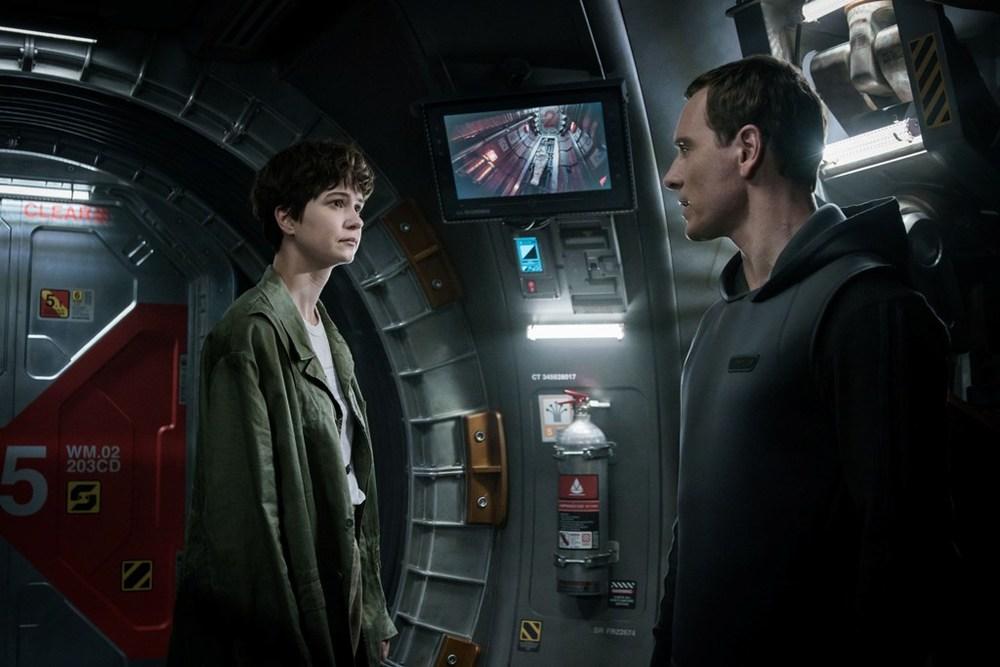 مایکل فاسبندر و کاترین واترستون در فیلم «بیگانه: پیمان»(Alien: Covenant)