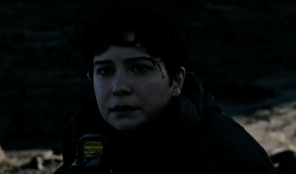 کاترین واترستون در نمایی از فیلم «بیگانه: پیمان»(Alien: Covenant)