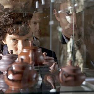 بندیکت کامبربچ در سریال «شرلوک»(Sherlock)