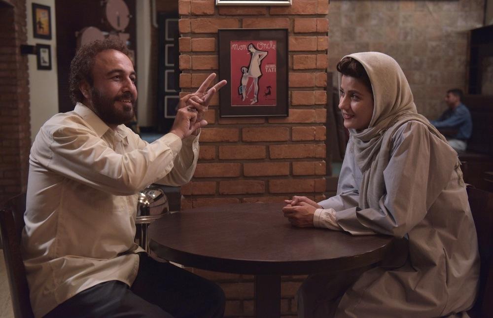 رضا عطاران و سارا بهرامی در فیلم «هزارپا»