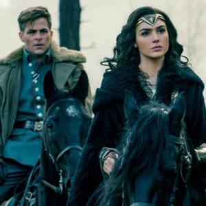 گل گدوت و کریس پاین در فیلم «زن شگفت انگیز»(Wonder Woman)