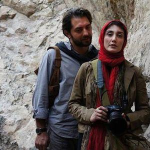 بهرام رادان و هدیه تهرانی در فیلم «پل چوبی»
