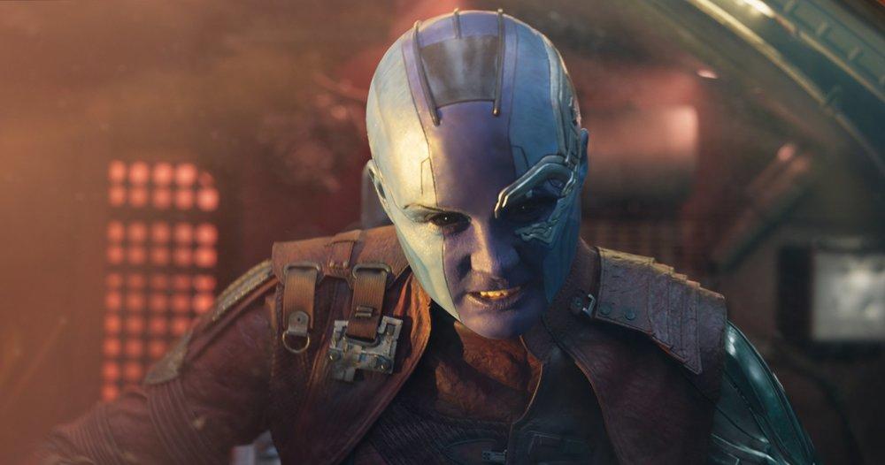 کارن گیلان در فیلم «نگهبانان کهکشان2»(guardians of the galaxy 2)