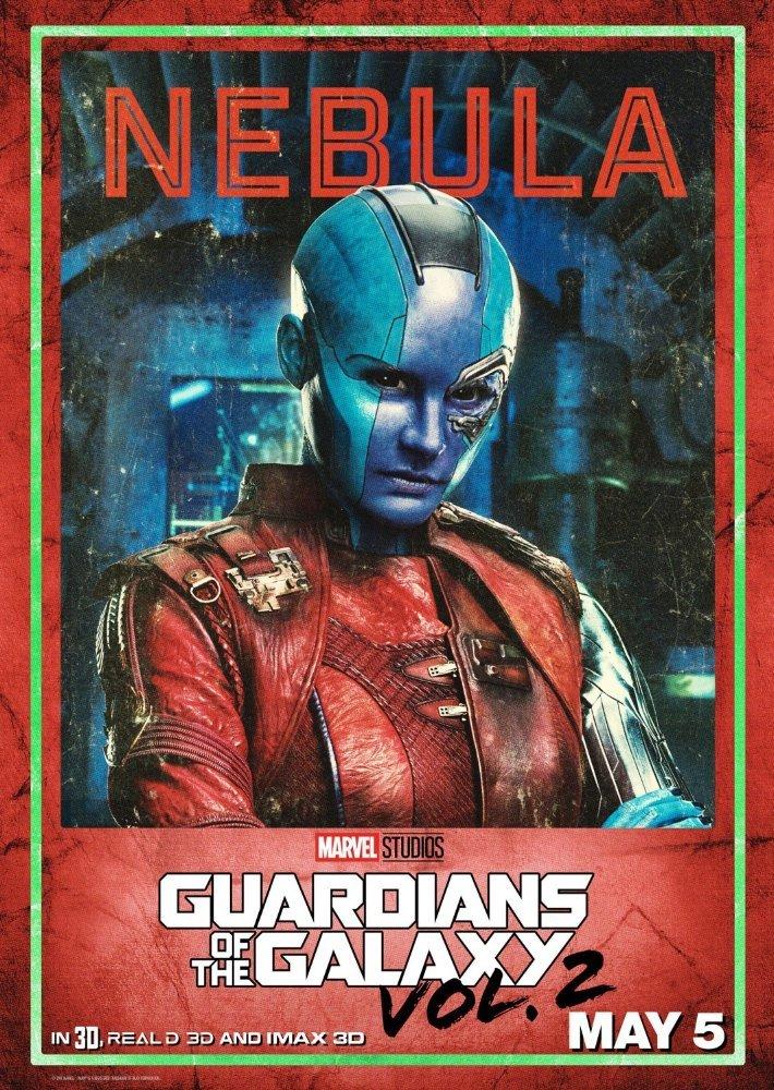 پوستر فیلم «نگهبانان کهکشان2»(guardians of the galaxy 2) با بازی کارن گیلان