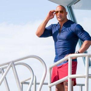 دواین جانسون در فیلم «گارد ساحلی»(Baywatch)