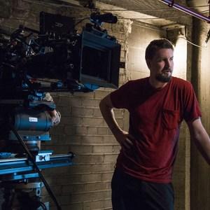 آدام وینگارد در پشت صحنه فیلم «دفترچه مرگ»(Death Note)