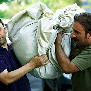 حبیب رضایی و مهران احمدی در فیلم «بیست»