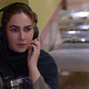 آنا نعمتی در پشت صحنه فیلم «آپاندیس»
