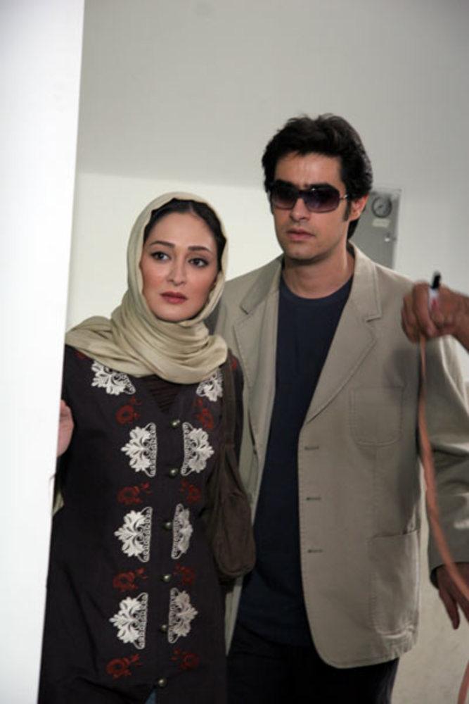 شهاب حسینی و الهام حمیدی در فیلم «بچه های ابدی»