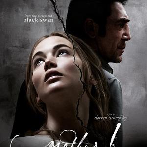 پوستر فیلم «مادر»(mother!) با بازی جنیفر لارنس و خاویر باردم