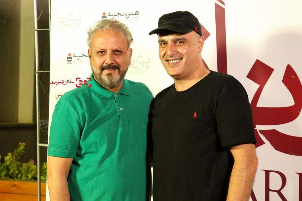 جلیل فرجاد و سعید داخ در اکران خصوصی فیلم «پریناز»
