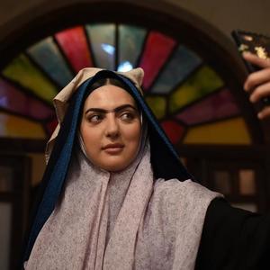 هلیا امامی در پشت صحنه فیلم «داش آکل»