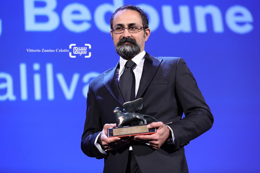 وحید جلیلوند برنده جایزه بهترین کارگردانی بخش افقها برای «بدون تاریخ، بدون امضا» در اختتامیه جشنواره ونیز