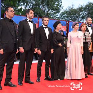 عوامل فیلم «ناپدید شدن» در فرش قرمز اختتامیه فیلم ونیز2017