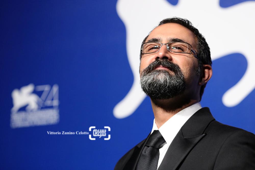 وحید جلیلوند در اختتامیه جشنواره فیلم ونیز