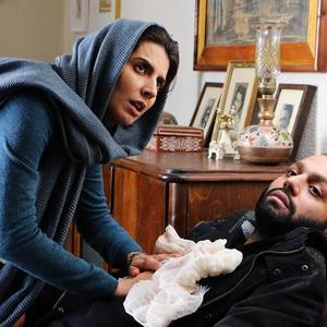 لیلا حاتمی و صابر ابر در فیلم «دل دیوانه»