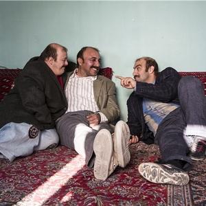 رضا عطاران و محسن تنابنده و حسین اسکندری