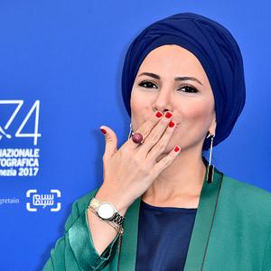 فرنوش صمدی در فتوکال فیلم «ناپدید شدن» در جشنواره فیلم ونیز2017