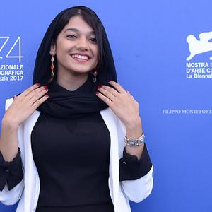 صدف عسگری در فتوکال فیلم «ناپدید شدن» در جشنواره فیلم ونیز2017