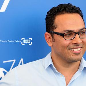 علی عسگری در فتوکال فیلم «ناپدید شدن» در جشنواره فیلم ونیز2017
