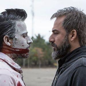 امیر آقایی و حسین سلیمانی در نمایی از فیلم ٣٦٠ درجه