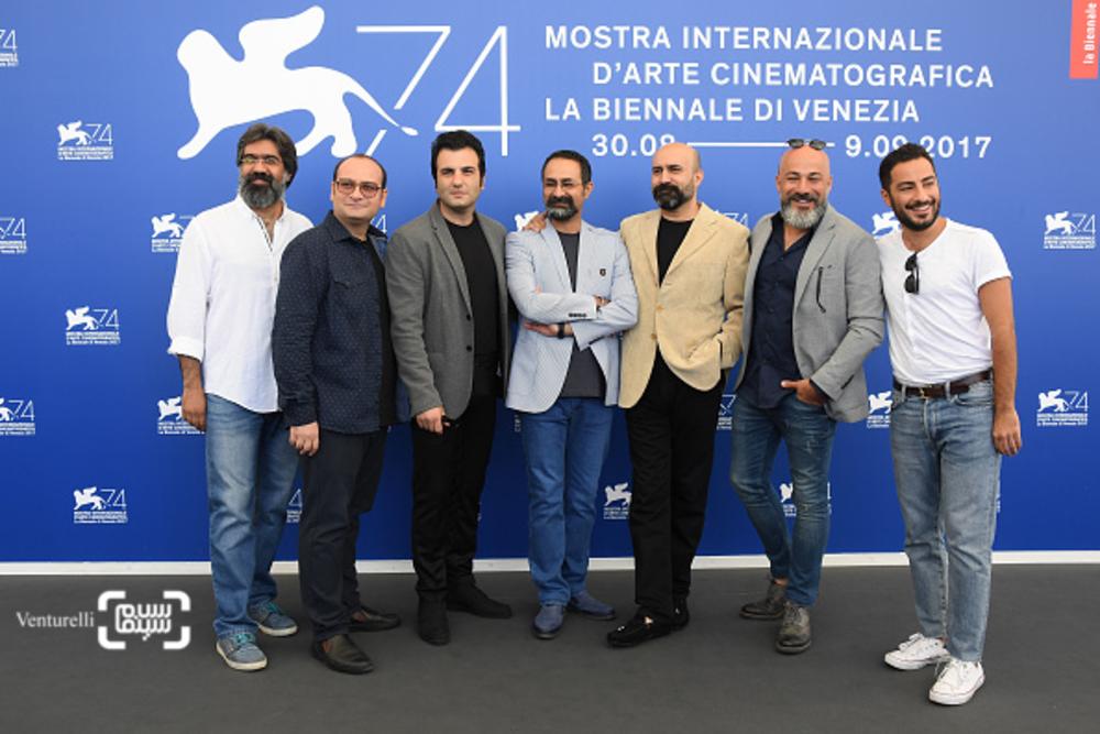 فتوکال فیلم «بدون تاریخ،بدون امضاء» در هفتادوچهارمین جشنواره ونیز