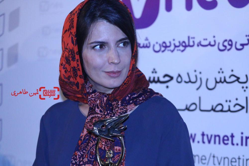 لیلا حاتمی برنده جایزه بهترین بازیگر نقش اول زن برای «رگ خواب» در نوزدهمین جشن خانه سینما