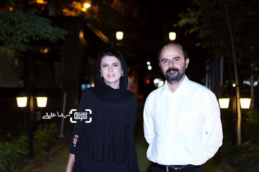 علی مصفا و همسرش لیلا حاتمی در اکران خصوصی فیلم «لیلا»