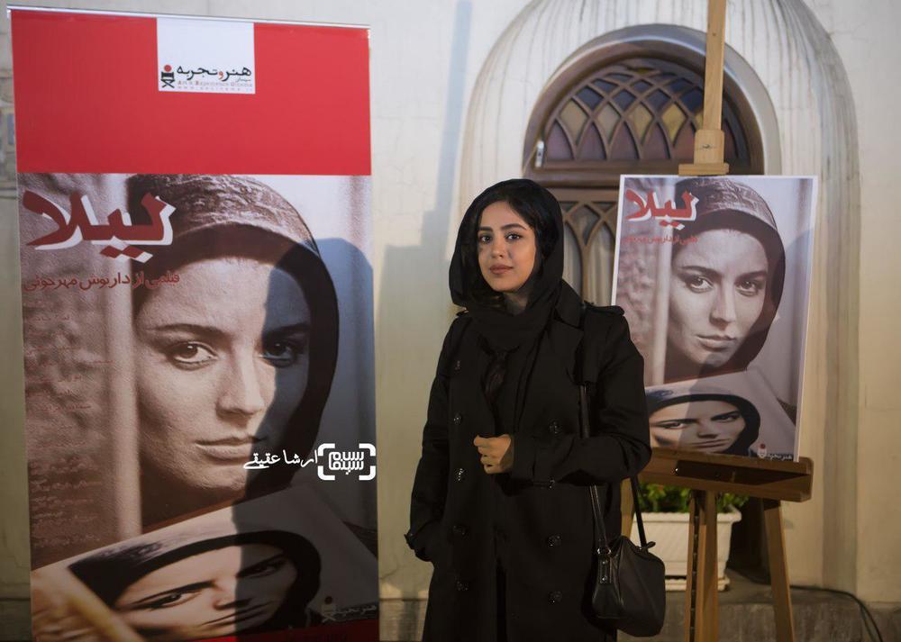 هنگامه حمیدزاده در اکران خصوصی فیلم «لیلا»