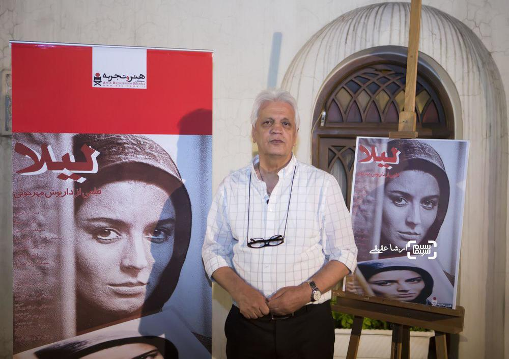 امیر حاج رضایی در اکران خصوصی فیلم «لیلا»