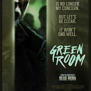 پوستر فیلم «اتاق سبز»(Green Room) با بازی پاتریک استوارت