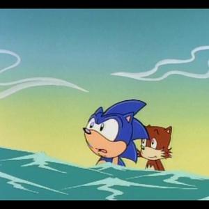 نمایی از «ماجراهای سونیک»(Adventures of Sonic the Hedgehog)