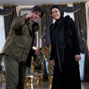 سحر قریشی و پوریا پورسرخ در فیلم «خالتور»