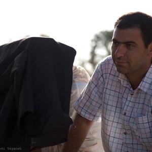 ستار چمنی گل در پشت صحنه فیلم «گل نساء»