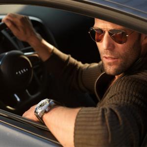 جیسون استاتهام در نمایی از فیلم «سرنوشت خشمگین»(Fast & Furious 8)