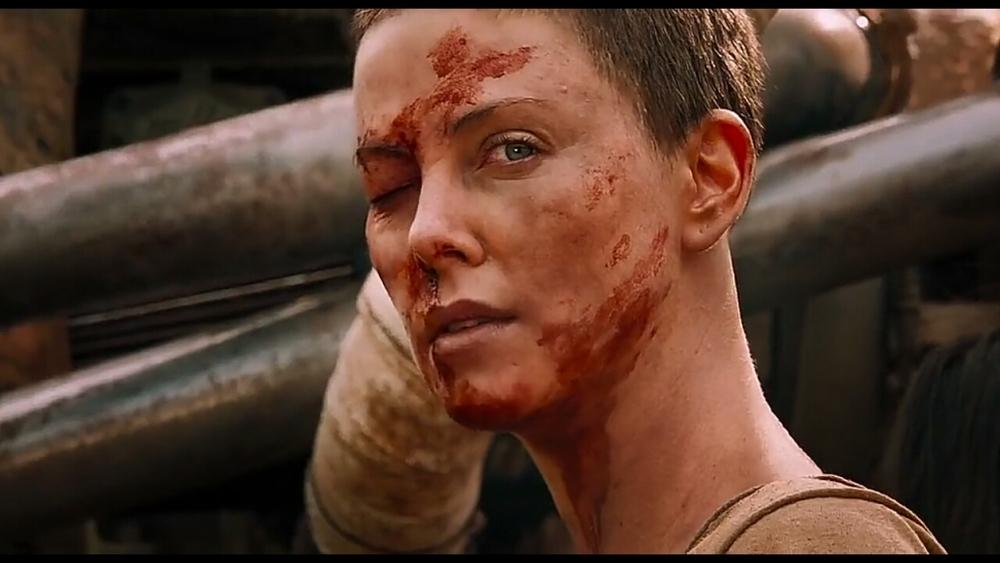 شارلیز ترون در فیلم «مکس دیوانه: جاده خشم»(Mad Max: Fury Road)