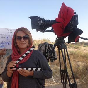 ویدا صالحی در پشت صحنه فیلم سینمایی «گل نساء»