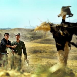 ساعد سهیلی و احمد درخشان در فیلم «او خوب سنگ می زند»