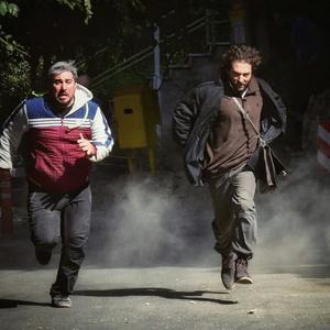 بهرام رادان و محسن کیایی در فیلم «چهار راه استانبول»