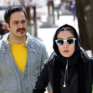لیلا زارع و میلاد کی مرام در فیلم «غیر مجاز»