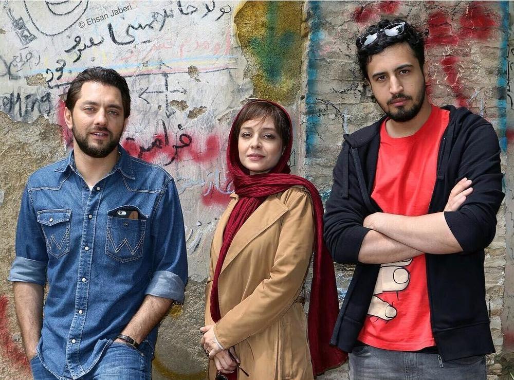 بهرام رادان، ساره بیات و مهرداد صدیقیان بازیگران فیلم «زرد»