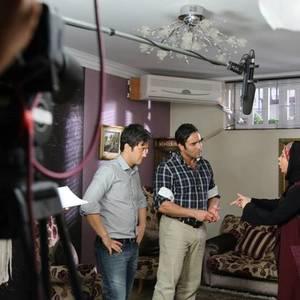 پشت صحنه فیلم دوربین ساخته محسن توكلی