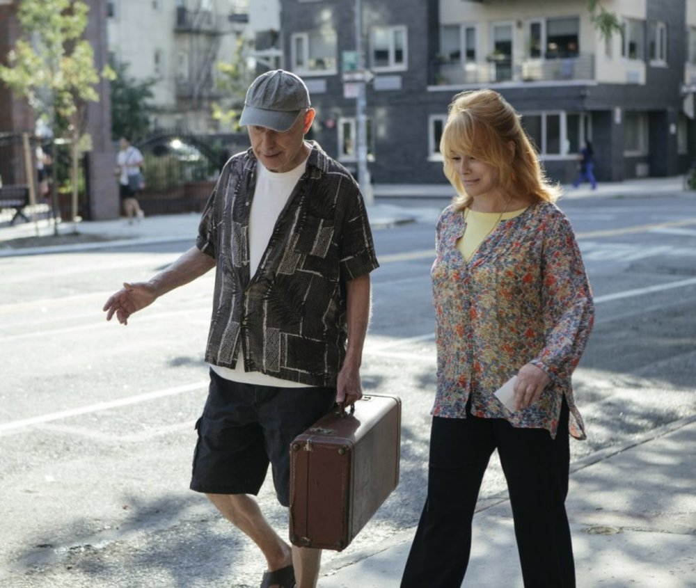 آن مارگرت و آلن آرکین در فیلم «به سوی زندگی لوکس»(Going in Style)