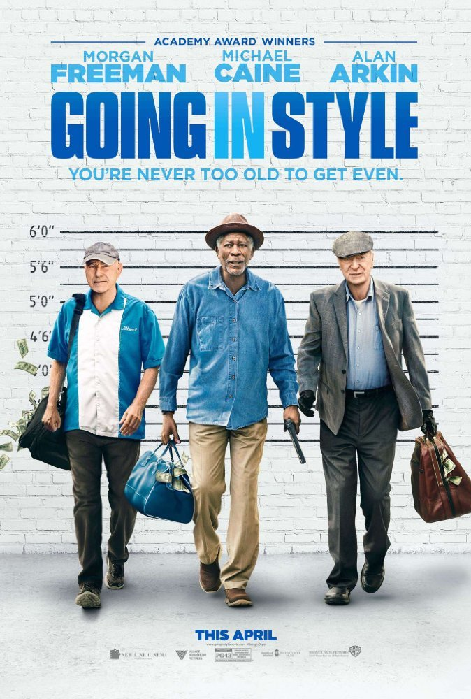 پوستر فیلم «به سوی زندگی لوکس»(Going in Style)